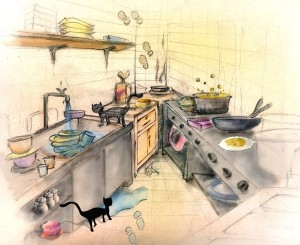 Organize your messy kitchen - Jess Explains It All
