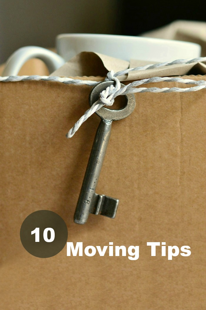 Moving tips to reduce stress