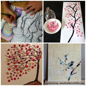 Easy DIY Art - Jess Explains It All