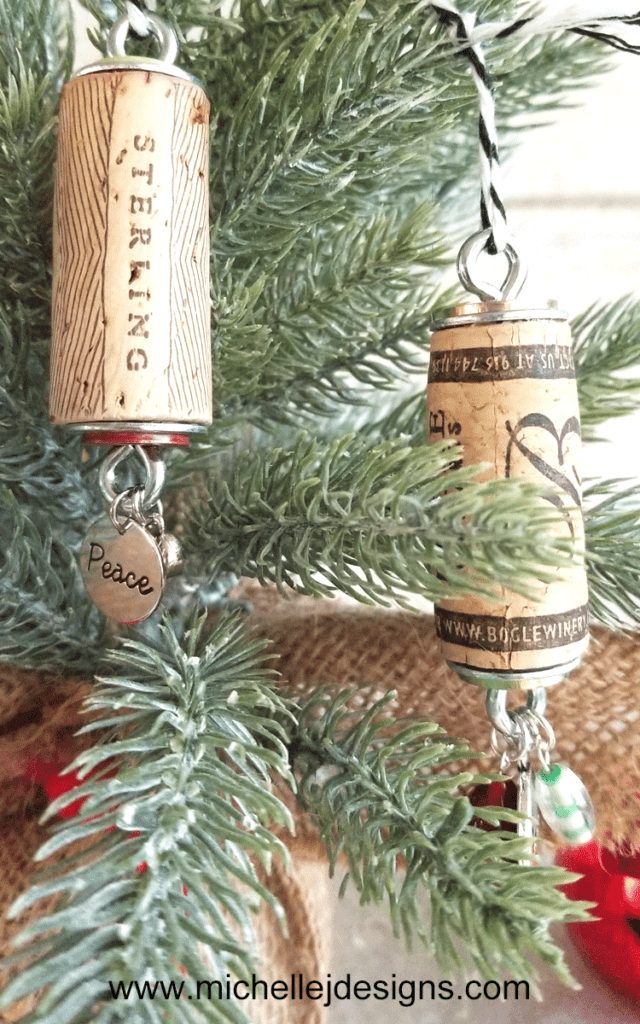 How To Make DIY Wine Cork Ornaments