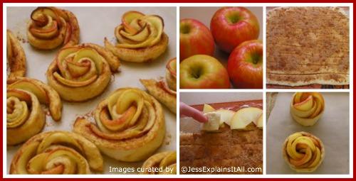 "Apple Roses - <a href=""http://jessexplainsitall.com/apple-roses/"">Jess Explains It All</a>"