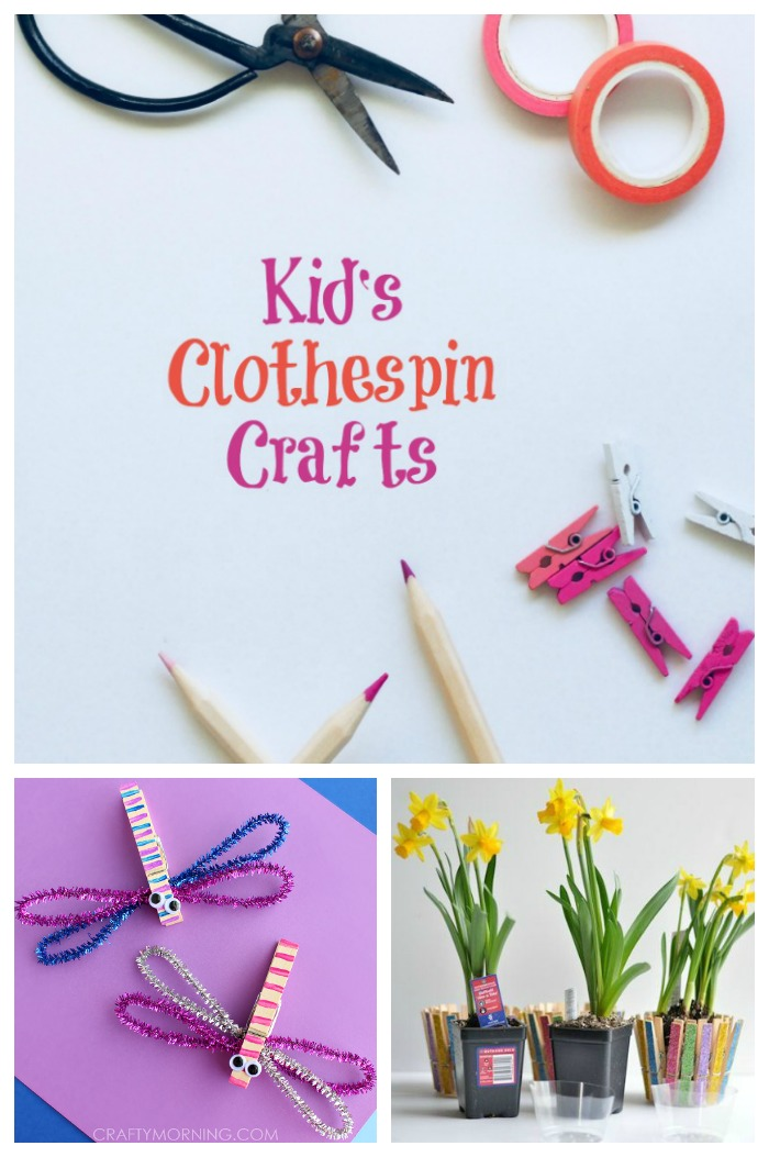 10 fun clothespin crafts for children