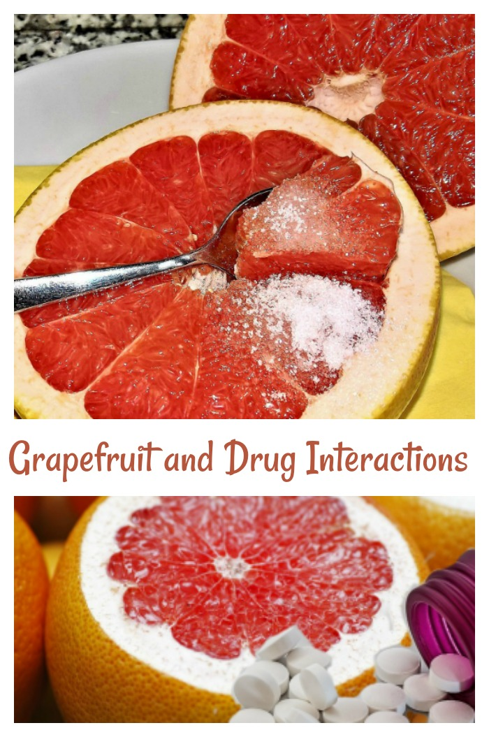 Be careful of grapefruit and drugs interactions