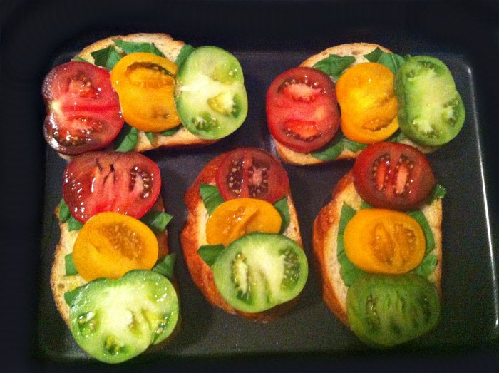 heirloom tomato sourdough baguette recipe
