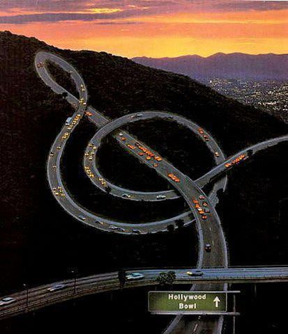 The Musical Freeway Los Angeles California