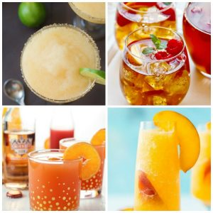 Sinful peach drink recipes