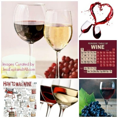 best wine pictures collage