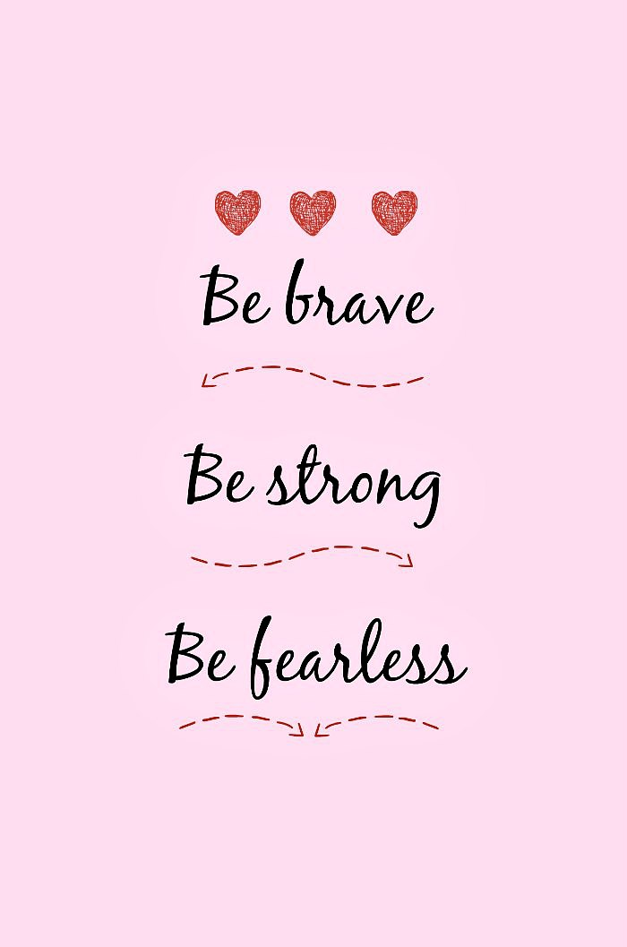 Quote about being brave