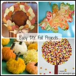 Easy Fall DIY Projects