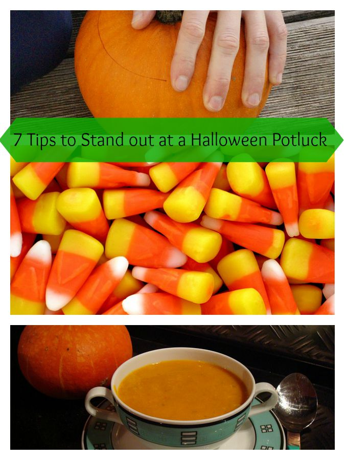 Halloween is a great time for parties. There's so many halloween recipes, so why not make yours really stand out with my 7 tips for a halloween potluck!