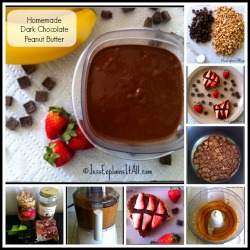Homemade Dark Chocolate Peanut Butter