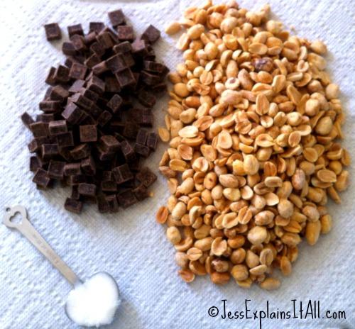 "Homemade Dark Chocolate Peanut Butter -<a href=""http://jessexplainsitall.com/homemade-dark-chocolate-peanut-butter/ "" target=""_blank"">Jess Explains It All</a>"