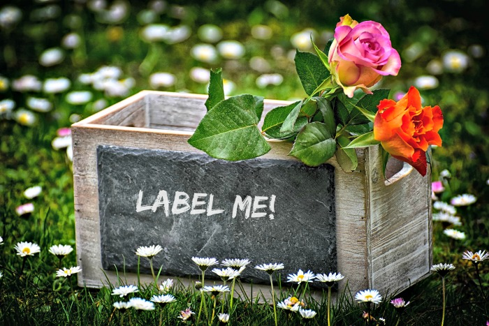 organization tips: Label boxes and bins