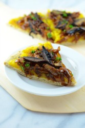 Acorn Squash and Caramelized Onion Pizza