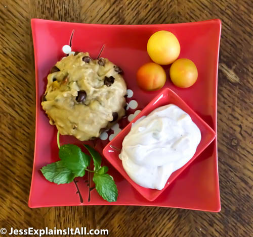 Check out my recipe for Plum-Cherry Chocolate Chip Cakies on my blog!