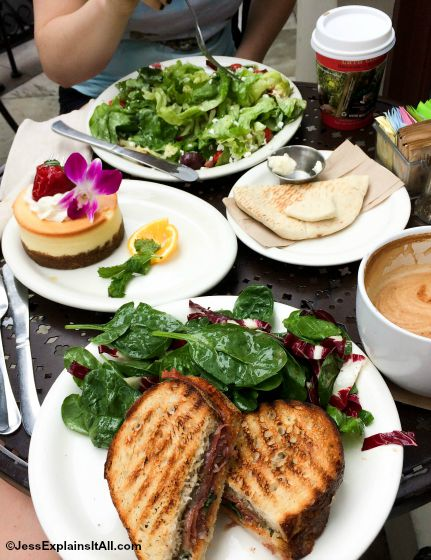 "I've got a new post up in my ""places to eat in Los Angeles' series. This one features Urth Caffe, a delicious counter service restaurant with great food and tasty drinks."