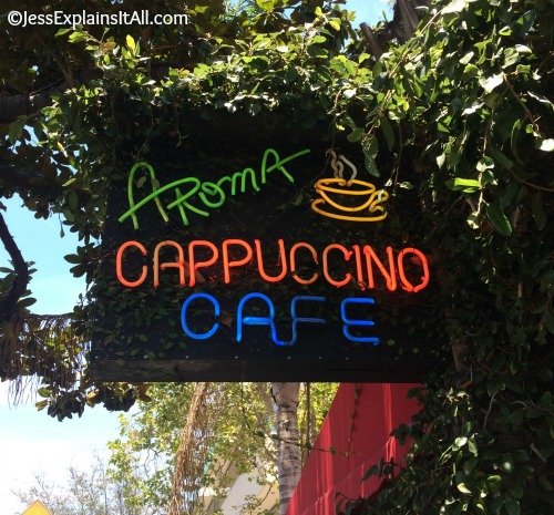 One of my favorite places to eat in Los Angeles is Aroma Coffee and Tea.  I just love it!