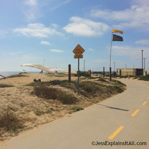 Hang gliding lessons in Redondo Beach, California