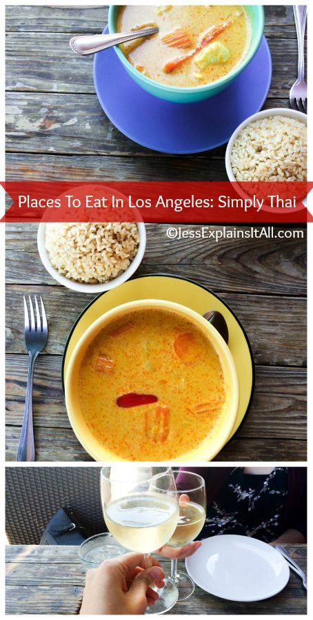 Do you love Thai food?  Check out my article on Simply Thai.  It's a cute little place in Los Feliz that made it on my places to eat in Los Angeles list!