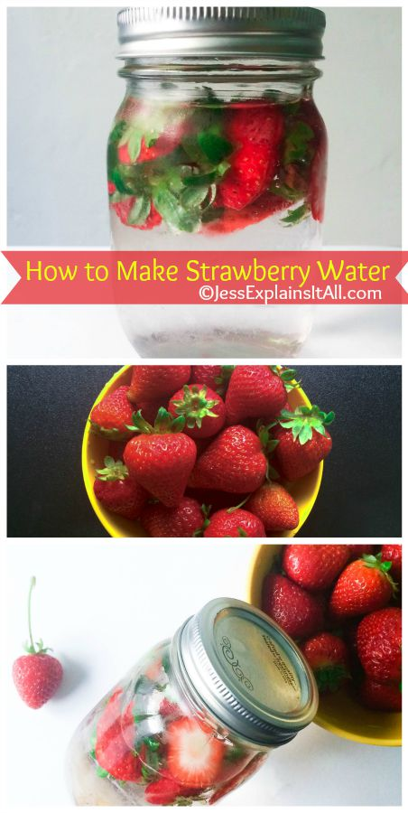 Have you ever wondered if you could get more milage out of your produce?  Learn how to make strawberry water to make your strawberries go a little further!