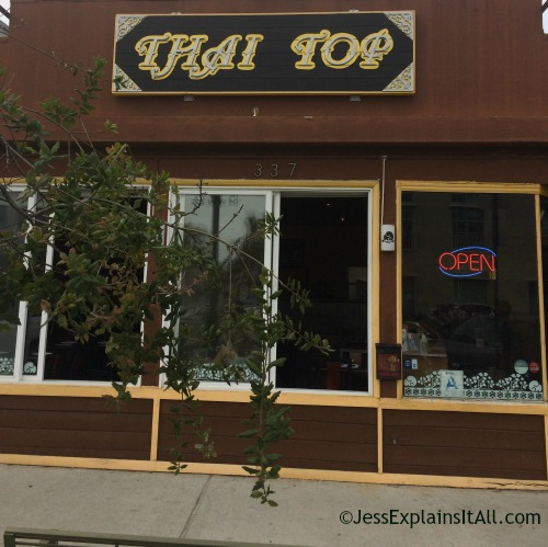 Thai Top restaurant in hermosa beach, California.