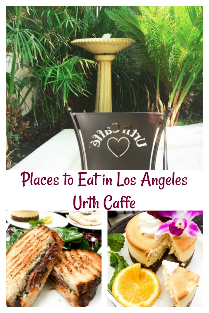 Places to Eat In Los Angeles - Urth Caffe