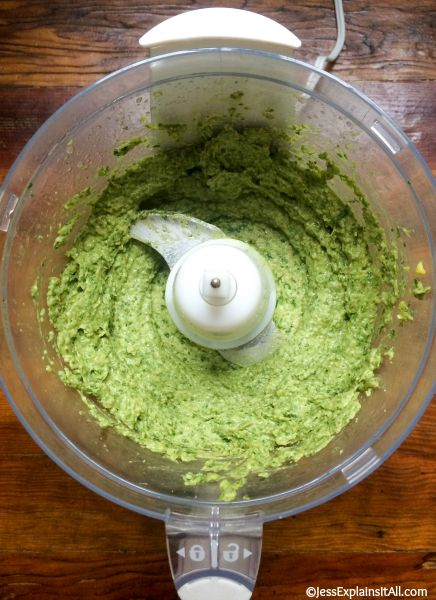Avocado Pesto?  Yes please!  Check out my recipe for a delicious and creamy avocado pesto.  It's vegan and gluten free too!