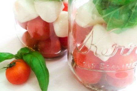 Caprese Salad in a Jar