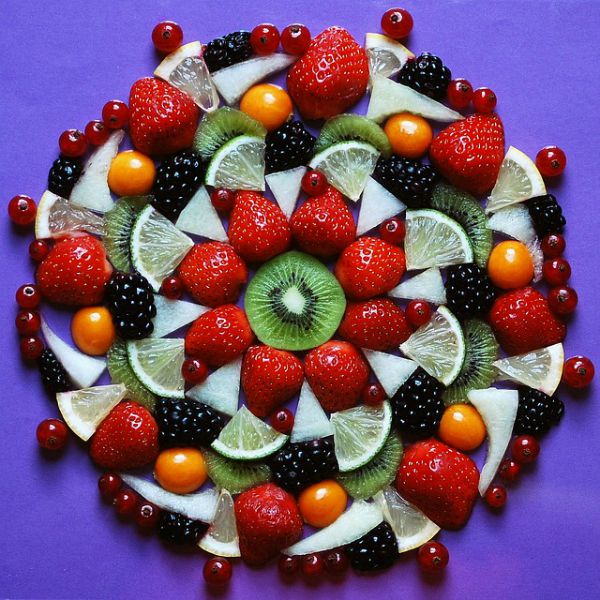 vegan fruit platter