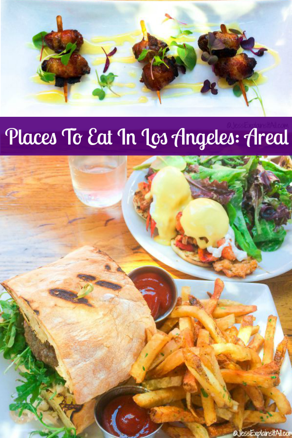 I'm totally obsessed with Santa Monica. I love the beach, the cool air, the vibe, and all of the super cute restaurants like Areal! Check out my post on it!
