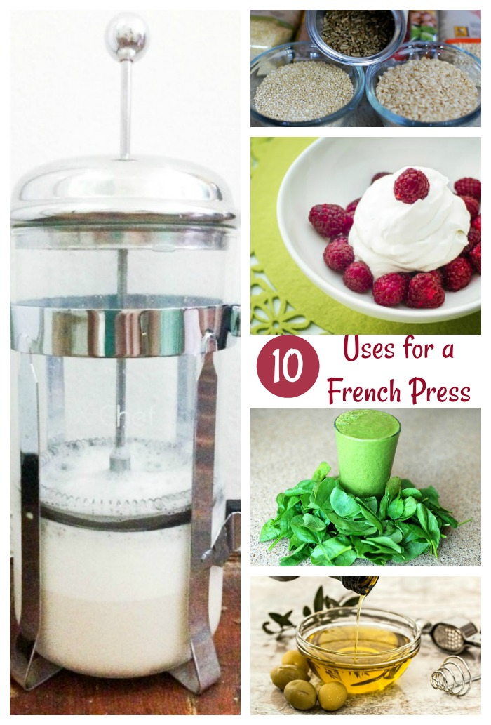 10 Creative Uses for a French Press