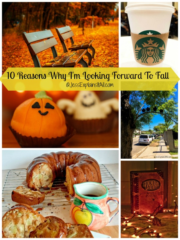 10 reasons why I am looking forward to October