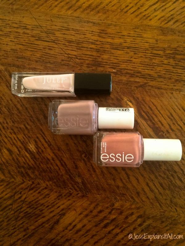 3 bottles of nail polish