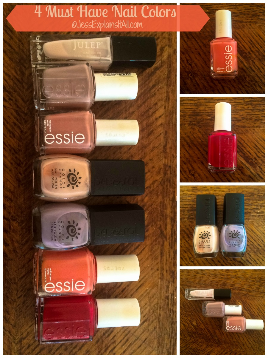 4 Must have nail colors