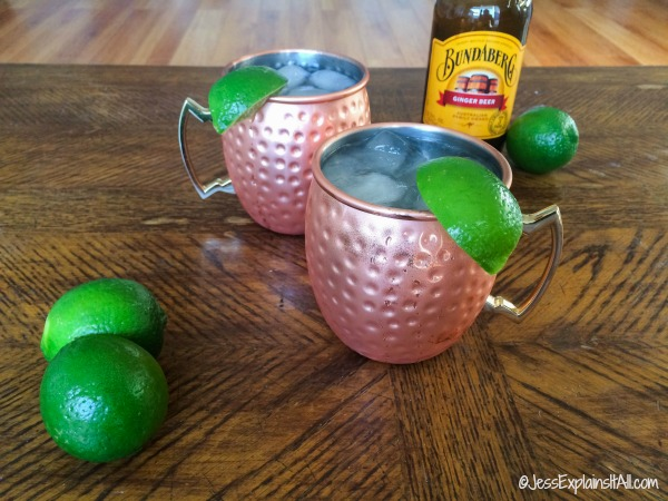 Classic Moscow Mule Recipe.
