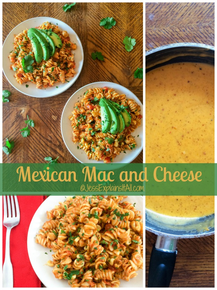 The other day I woke up craving Mexican food and mac and cheese. I decided to use both of those cravings to create this recipe for Mexican mac and cheese! #YesYouCAN #ad