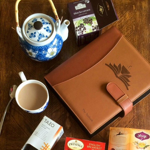 teabook and tea
