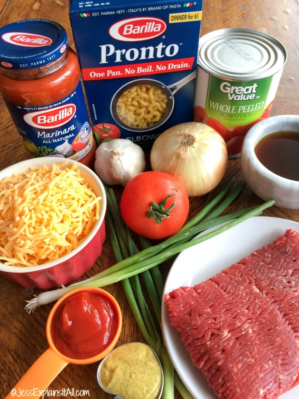 Looking for something ridiculously easy (and ridiculously delicious) to make for dinner tonight? Check out my recipe for one pot cheeseburger pasta!