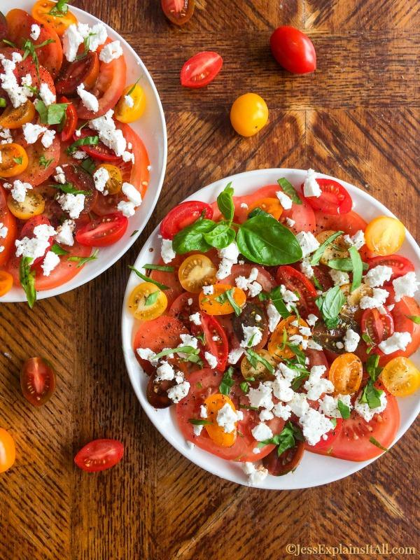 Mozzarella Caprese Salad