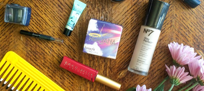 My Current Makeup Favorites
