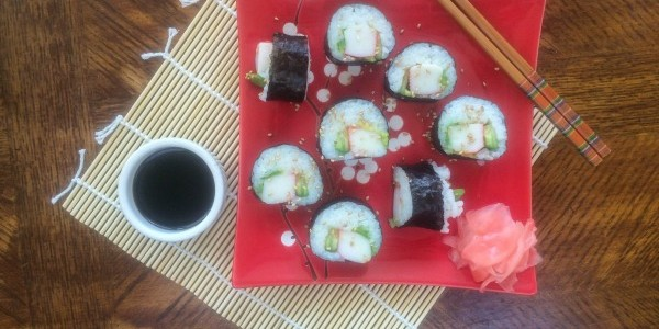 How To Make Homemade Sushi: The California Roll