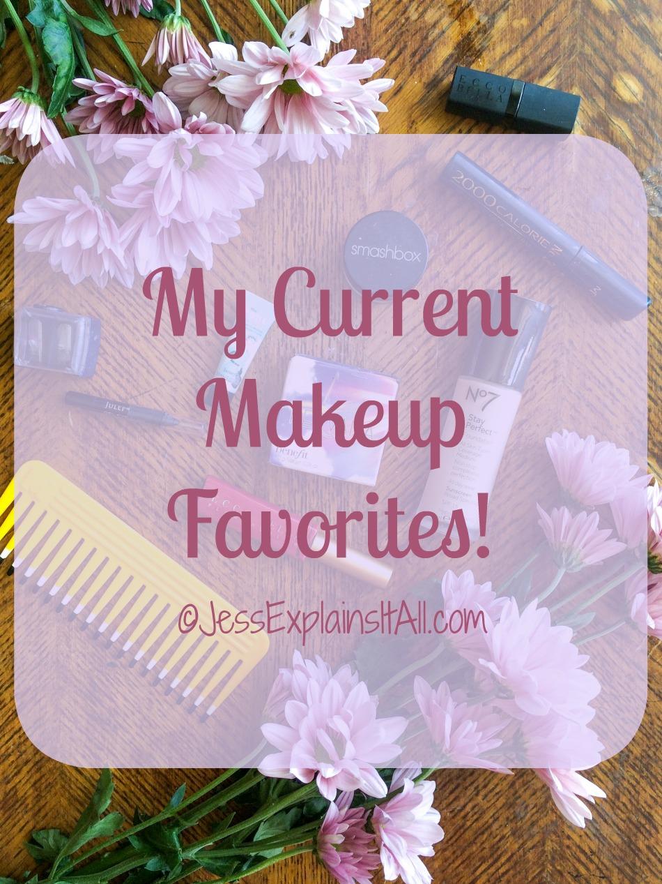 my current makeup favoritews
