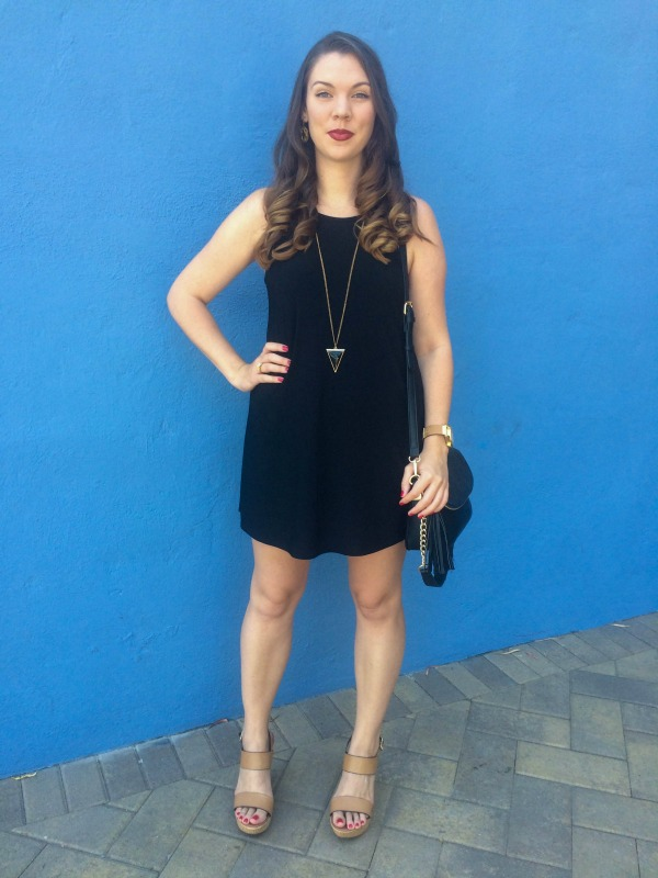 There is nothing more flattering than the perfect little black dress - well, nothing except for the perfect LBD with Steve Madden style accessories! www.JessExplainsItAll.com
