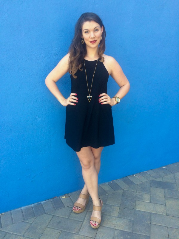 LBD with Steve Madden style accessories!