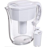 Brita Large 10 Cup Water Filter Pitcher with 1 Standard Filter, BPA Free – Everyday, White