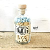 Powder Blue Tip Colored Matches