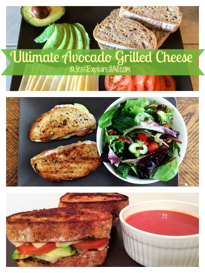 Ultimate Avocado Grilled Cheese