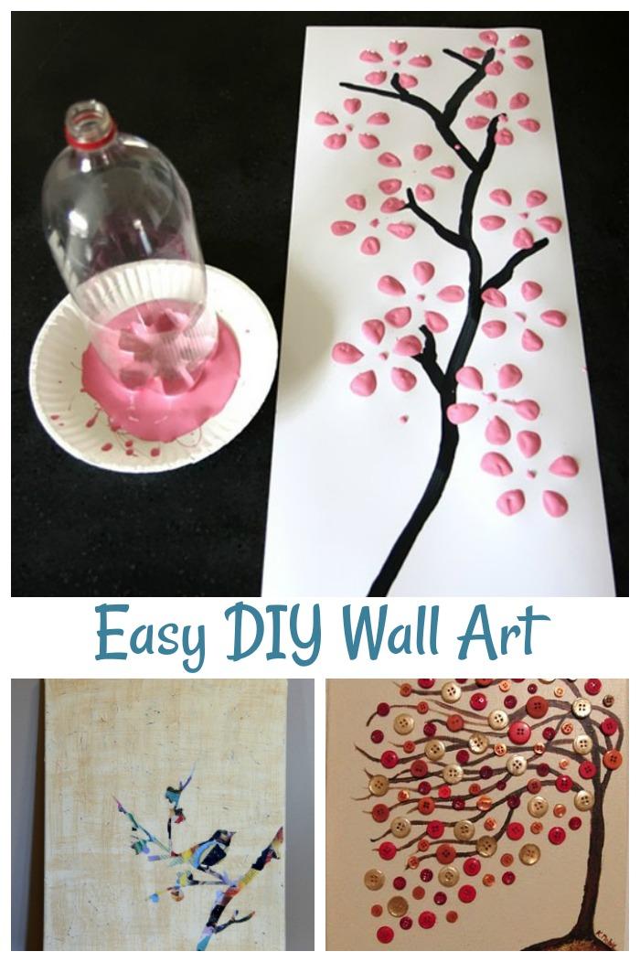 Easy Diy Art Ideas 8 Ways To Design Your Own Wall Art