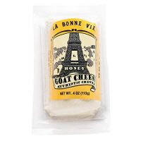 La Bonne Vie Goat Log with Honey, 4 oz