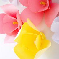 DIY Paper Flowers - The Easiest DIY Wall Decor